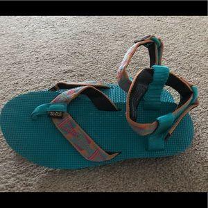 Brand new Teva sandals.